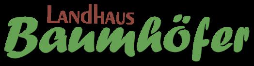 Landhaus Baumhöfer - Ferienwohnungen Apen